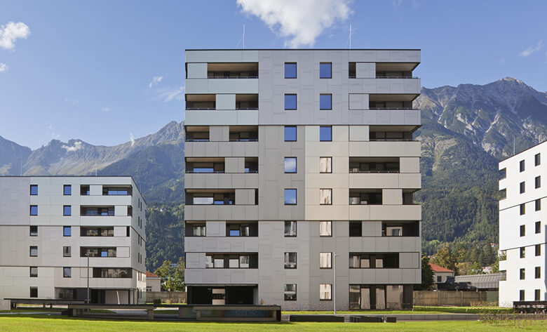 Passivhauswohnanlage O3, Innsbruck