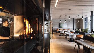 """Dorfzentrum Mils – Café Restaurant """"Milsano"""" & Pfarrsaal"""