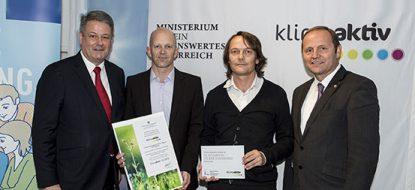 Erweiterung Congress Centrum Alpbach – Verleihung der klimaaktiv Plakette in Silber